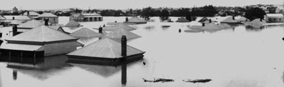 Floods at Milton in 1893