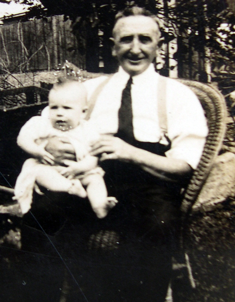 Tom Ferris with Cecilia